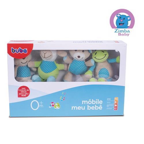 Móbile Meu Bebê Ursinho e Cia - Azul - Buba