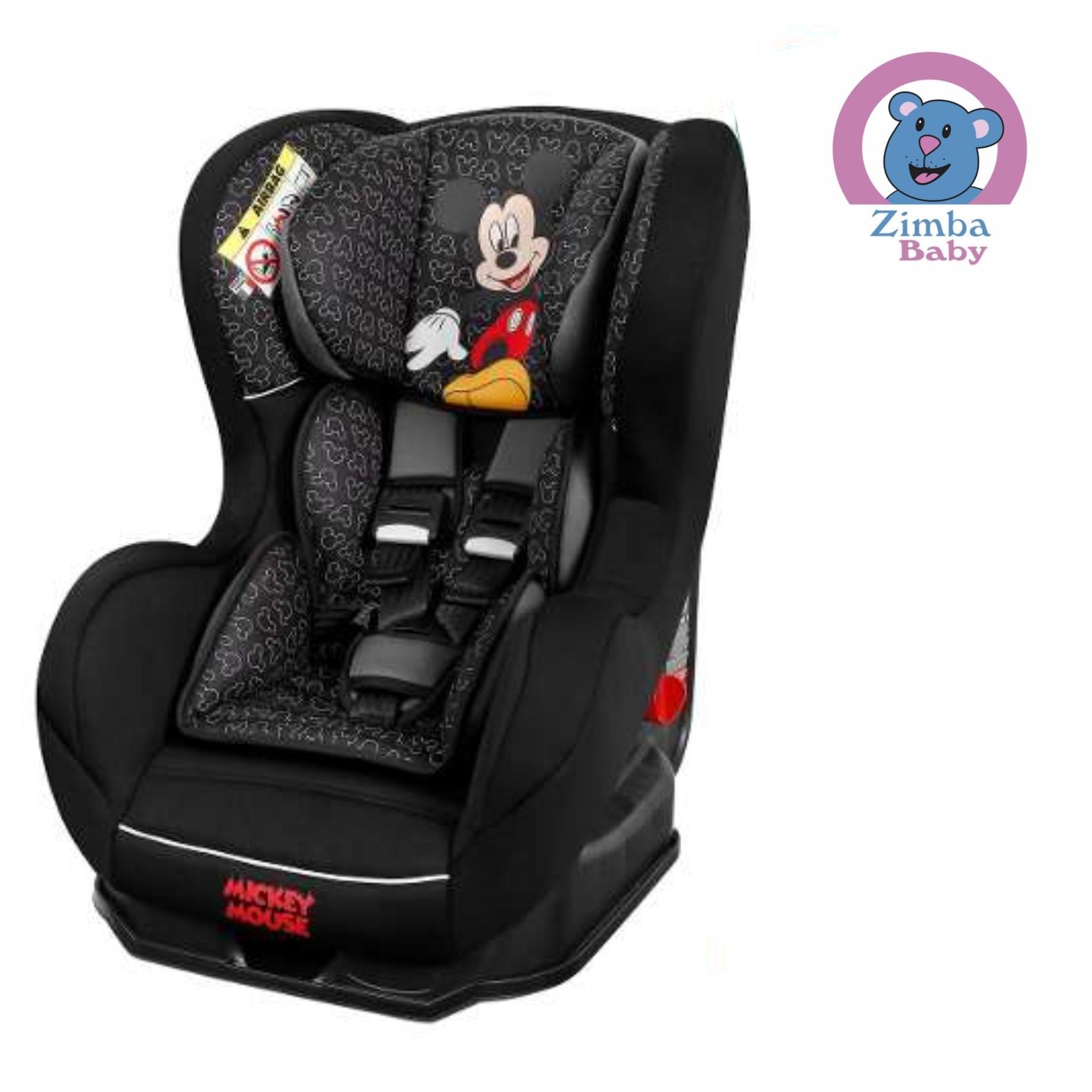 Cadeira de Auto -- De 0 a 25kg - Disney Mickey - Nania
