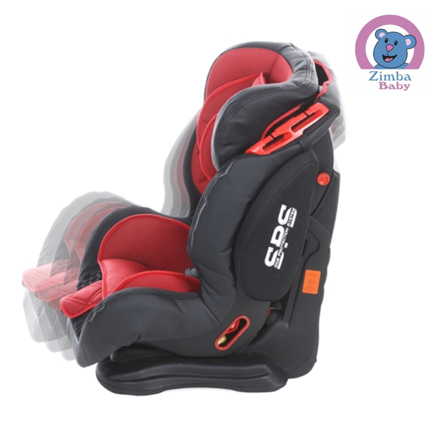 Cadeira Cockpit - Vermelha Lava - De 9 a 36 Kg - Infanti