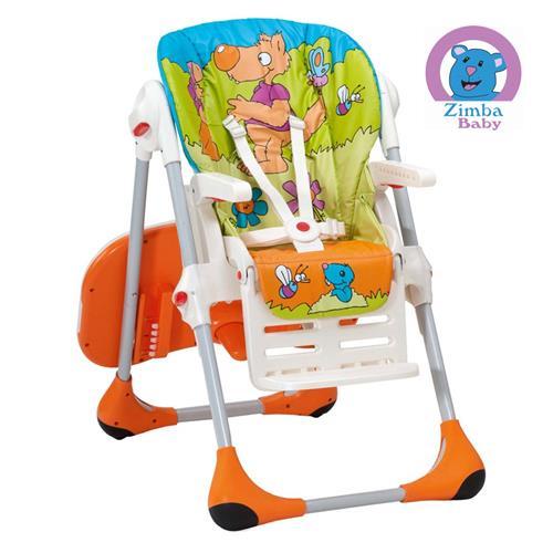 Cadeira de Alimentação  Polly 2 em 1 Chicco Wood Friends