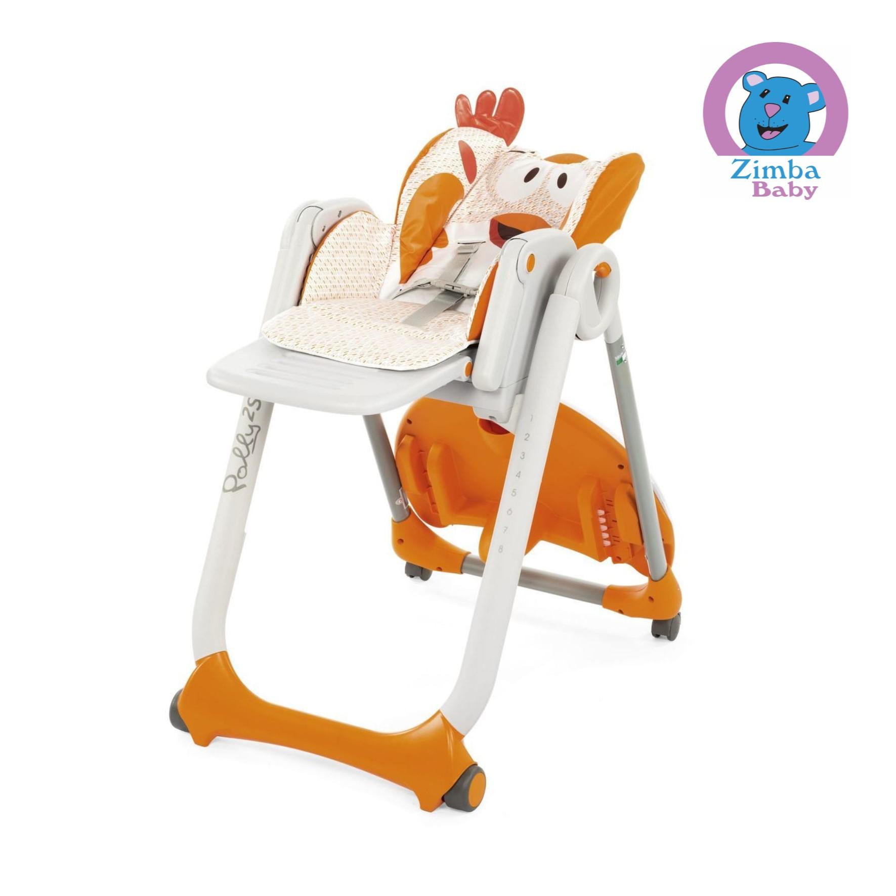 Cadeira de Alimentação Polly 2 Start- Chicken -Chicco