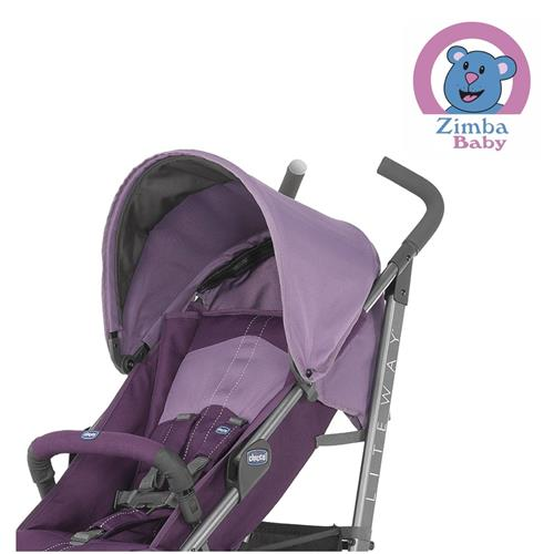 Carrinho Liteway 2 Purple - até 22 kg - Chicco