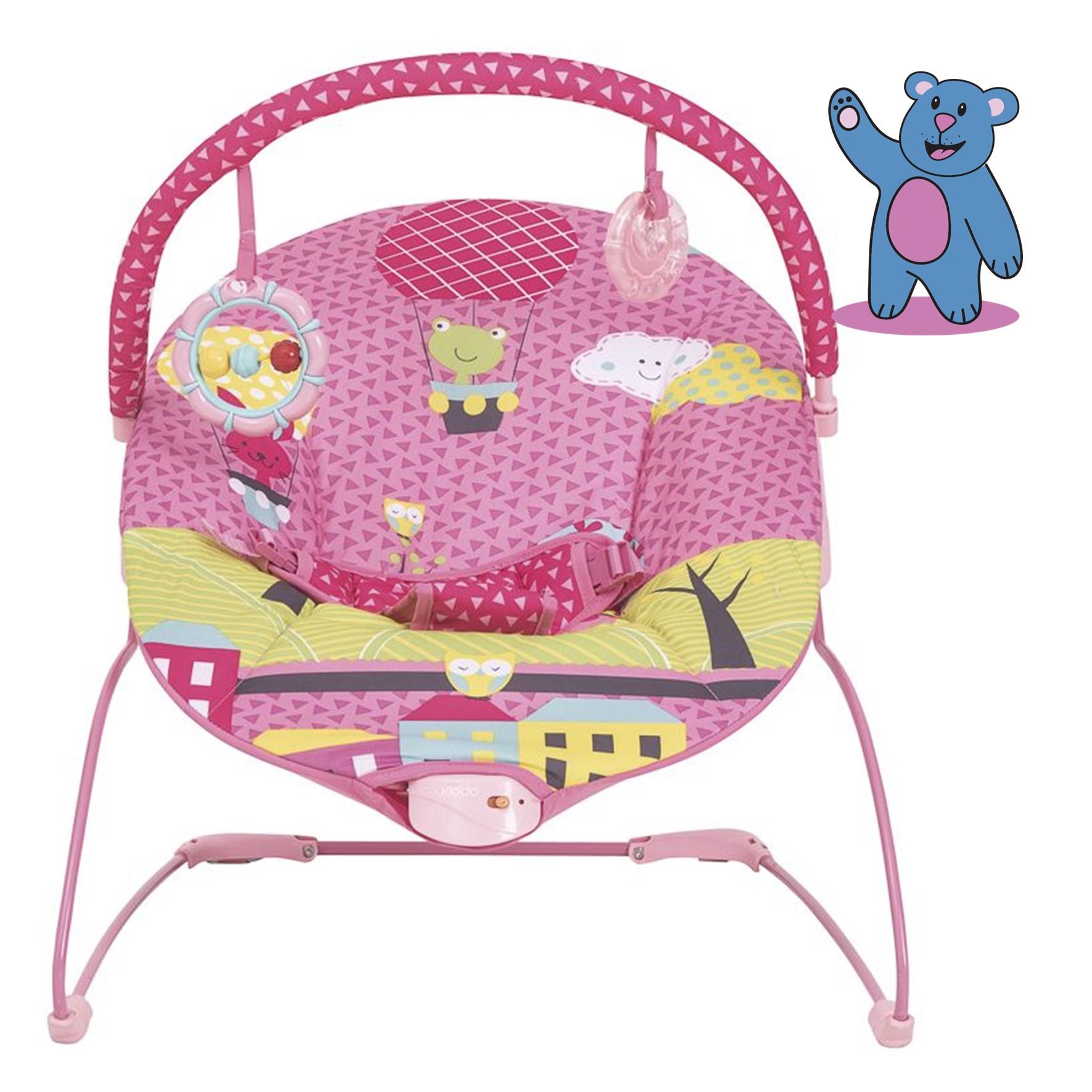 Cadeira de Descanso - Joy - Kiddo-Até 9 Kg - Rosa