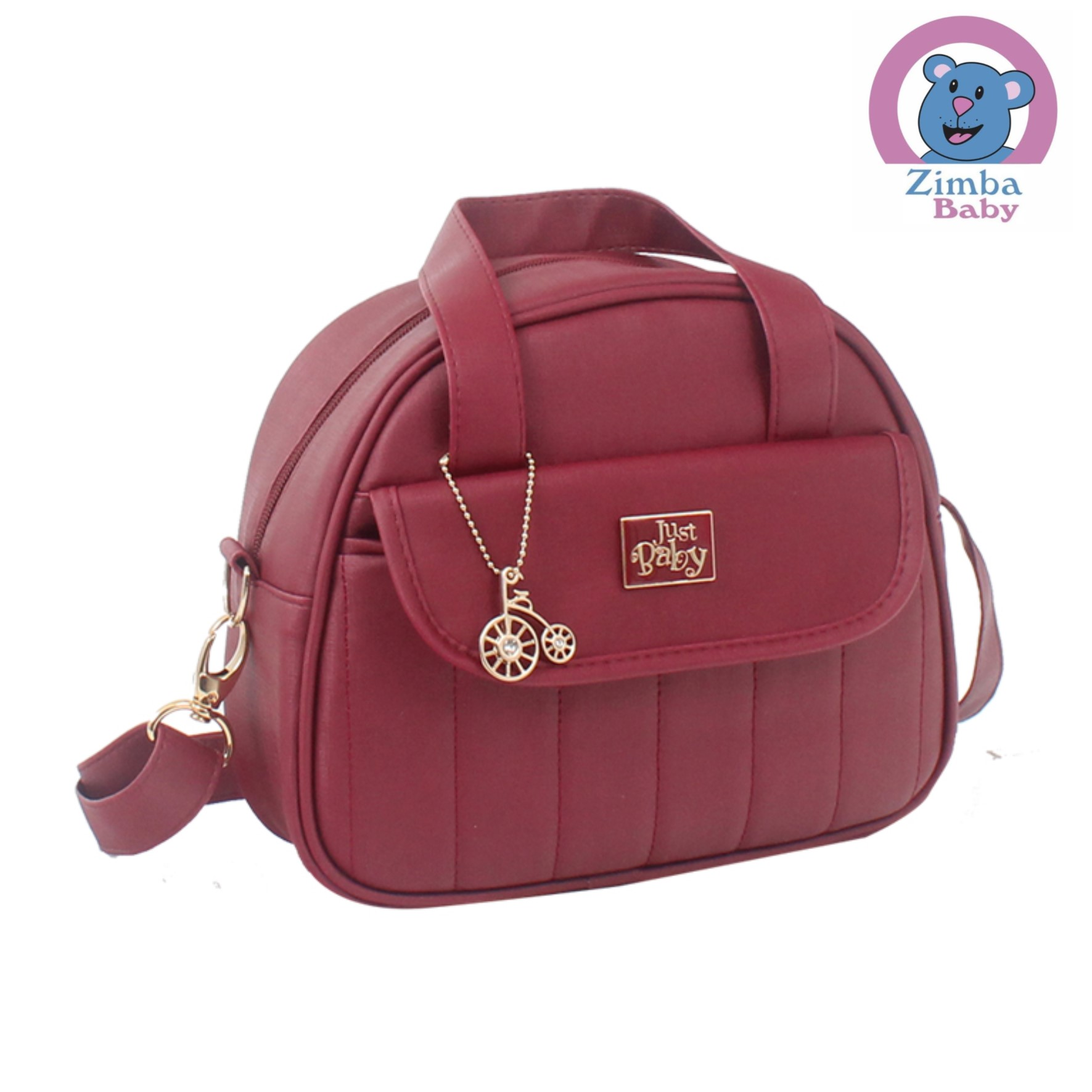 Bolsas e Malas Just Baby Copenhague Bordo
