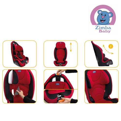 Cadeira para Auto - Gro-up 123 - 9 a 36 Kg - Cinza - Chicco