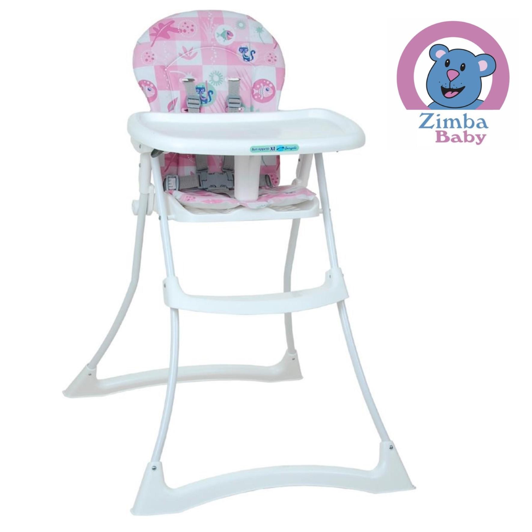 Cadeira de Alimentação Bon Appetit XL - Peixinho Rosa - Burigotto