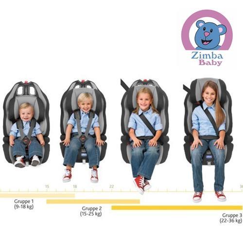 Cadeira para Auto - Gro-up 123 - 9 a 36 Kg - Vermelha - Chicco