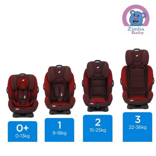 Cadeira de Auto - Stages - Vinho com Preto - De 0 a 25Kg - Joie